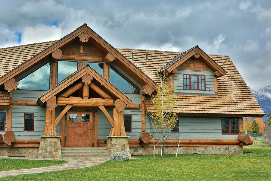 Wondrous Log Timber Frame Home Styles Summit Log And Timber Homes Home Interior And Landscaping Eliaenasavecom