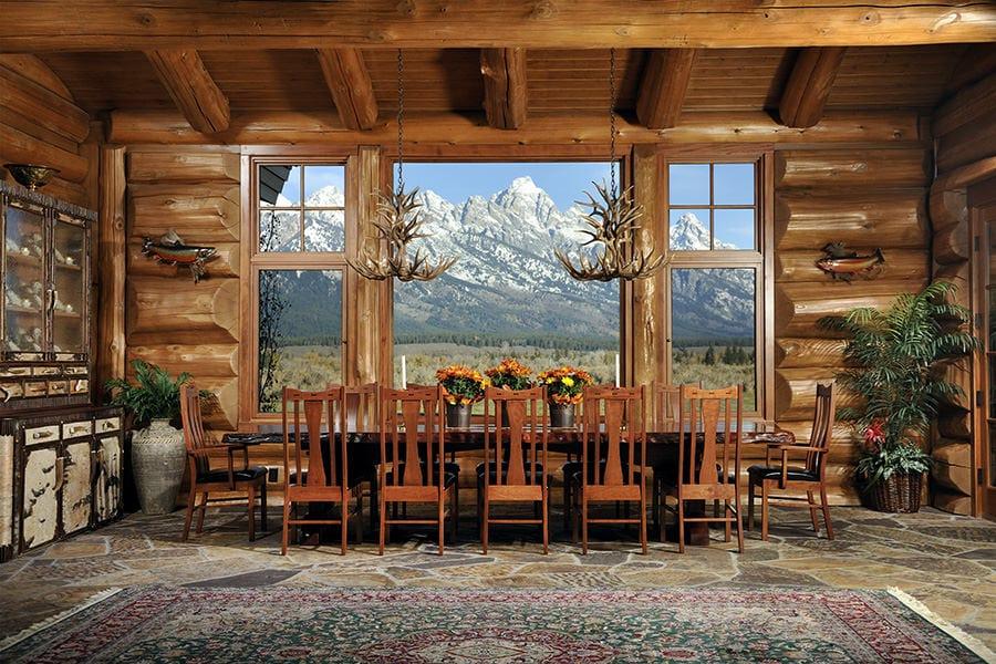 Big Horn Lodge Summit Log Amp Timber Homes