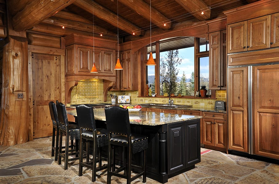 Big Horn Lodge Summit Log Timber Homes