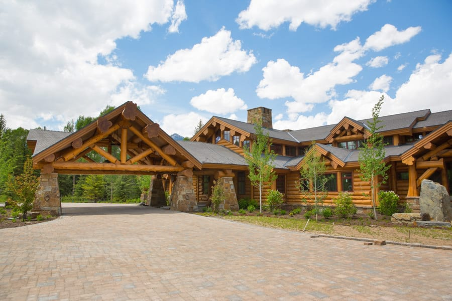 Grand Teton Summit Log Timber Homes