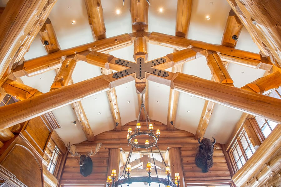Tall Ceiling Trusses