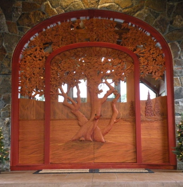 Perfect ... Hand Carved Wooden Doors   $48,000 ...