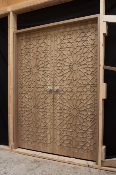 Hand Carved Wooden Doors - $24,000
