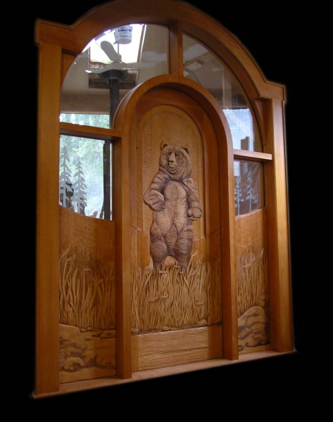 Hand Carved Wooden Doors - $26,400