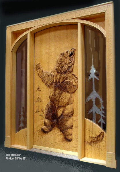 Hand Carved Wooden Doors - $20,400