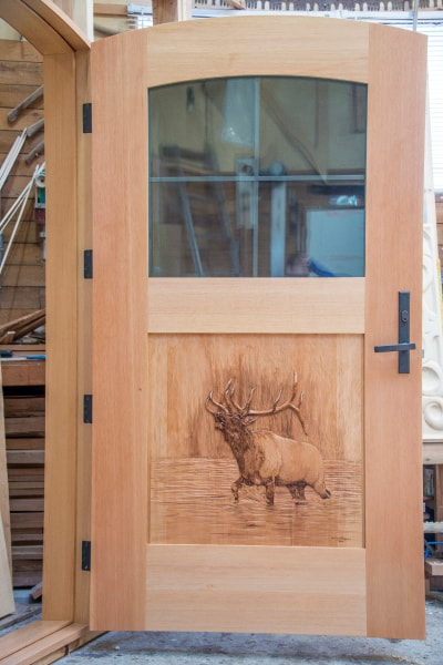 Hand Carved Wooden Doors - $13,200