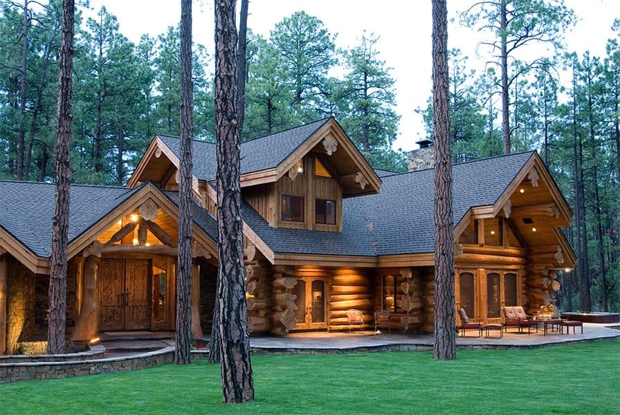 Pinetop Summit Log Timber Homes