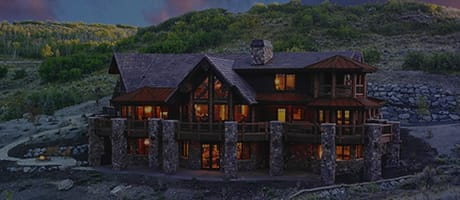 Park City Log Home Style