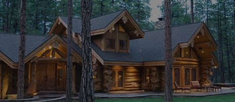 Pinetop Log Home Style