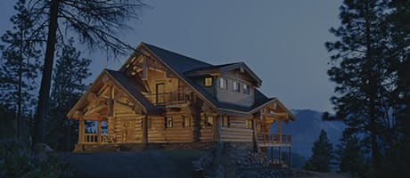 River Bend Log Home Style