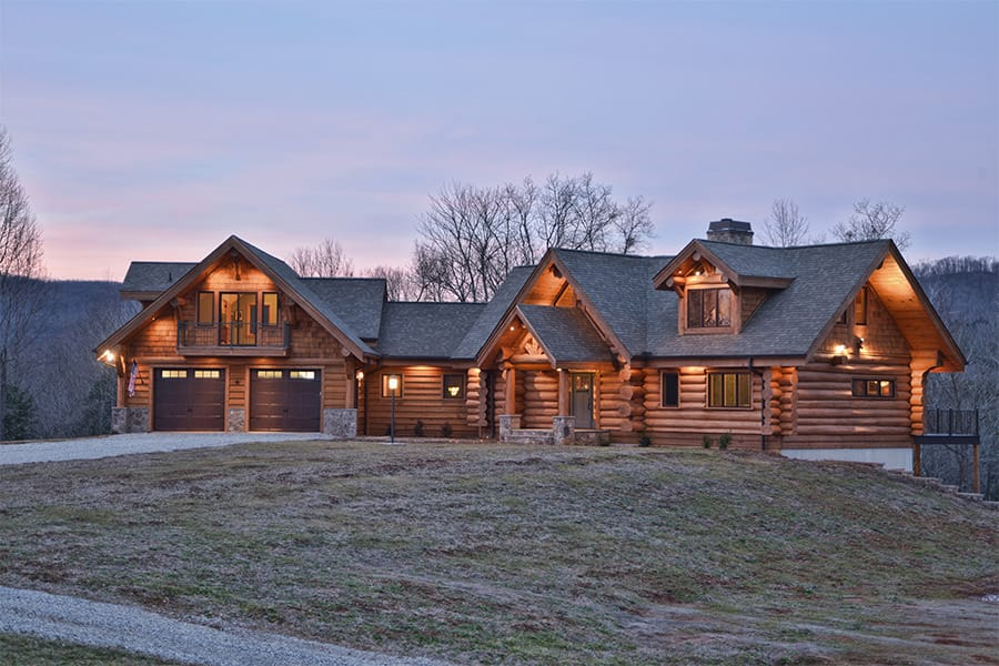 Rolling Hills Home Exterior